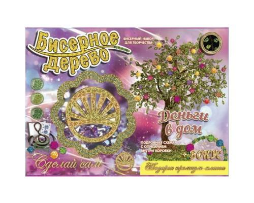 Бисерные деревья Деньги в дом