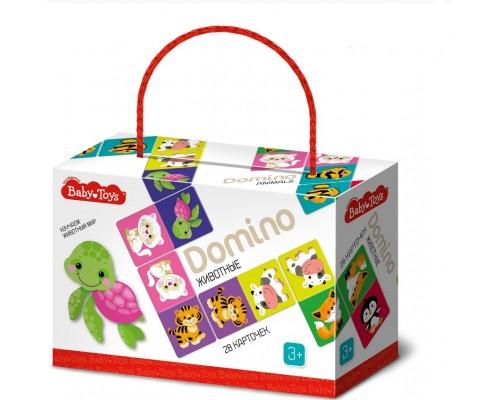Домино Животные Вaby Toys 04047