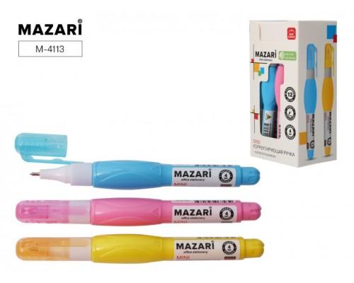 Корректирующая ручка MINI, 4 мл, с металлическим наконечником, морозоустойчивая