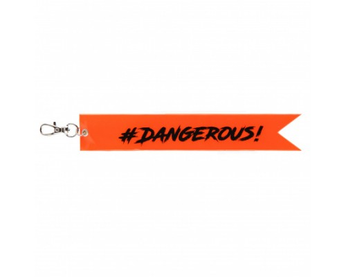 Брелок светоотражающий Dangerous! 211613 КОКОС