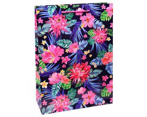 Optima Пакет подарочный с глянц. лам. 22x31x10 см (ML) Цветочное разнообразие, 1