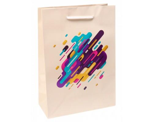 Optima Пакет подарочный с глянцевой ламинацией 22x31x10 см (ML) Креативное реше