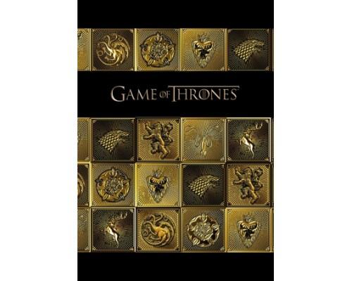 Бизнес-блокнот А5 120 листов (твердая обложка) Игра престолов